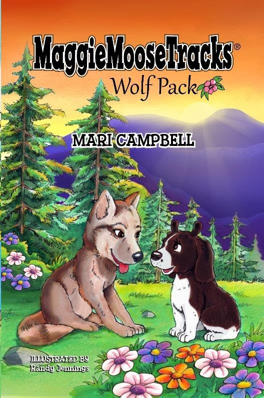 Children Book- 3Pack Maggie Moose Tracks